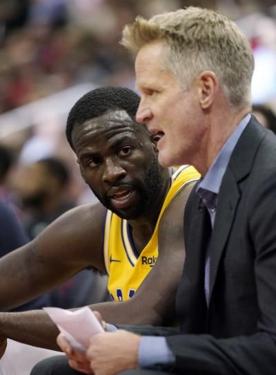 NBA》D.格林對獨行俠缺陣 勇士教練一番話讓人臆測