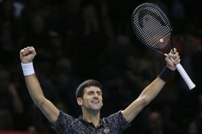 ATP年終賽》喬帥對決德小鮮肉 鎖定平賽史最高第6冠
