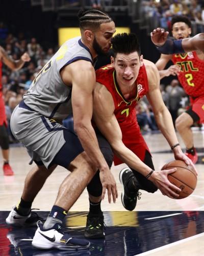 NBA Live》林書豪力壓T.楊恩拿最高分 老鷹被溜馬逆轉吞7連敗