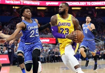 NBA》「白魔獸」技壓詹皇 魔術中止湖人四連勝