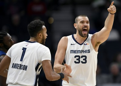 NBA》逼出對手20次失誤 灰熊終止灰狼3連勝