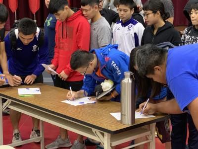 中華奧會主席林鴻道南北往返 鼓勵選手站出來替自己發聲