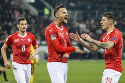 足球》塞費羅維奇上演「帽子戲法」 瑞士踢爆比利時晉4強