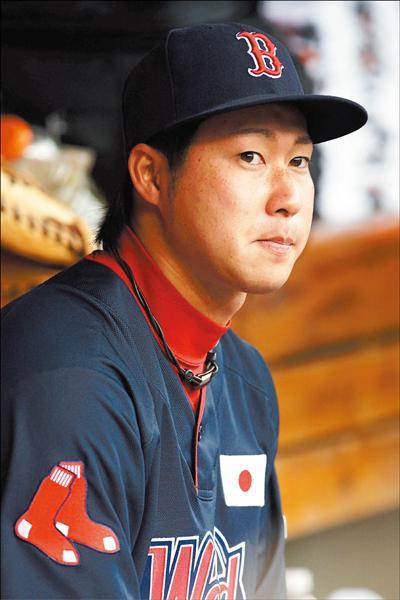 日本業餘強投田澤純一今年入選未來之星世界隊,因下雨延賽過久而未登板。(法新社)