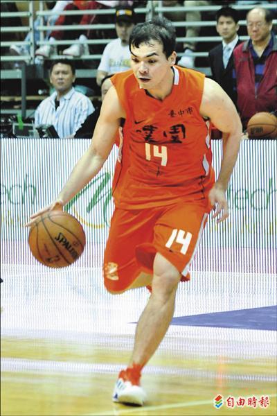 4月7日SBL冠軍戰第六場,璞園蔡文誠獲得冠軍賽MVP。 (資料照,記者陳志曲攝)