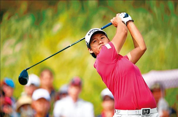 LPGA韓亞銀行錦標賽,曾雅妮以274桿獲得第2名,與冠軍僅1桿之差。(法新社)