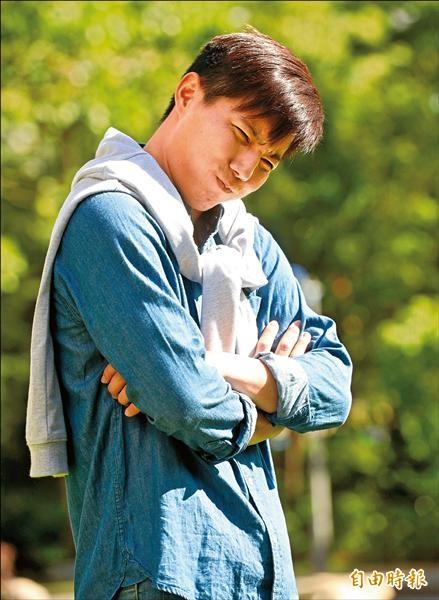 郭俊麟被朋友爆料很愛哭,他坦言自己很容易被感動。(記者林正堃攝)