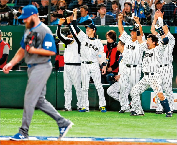 本屆經典賽日本隊,陣中僅青木宣親一個大聯盟球員。(資料照)