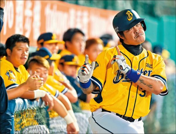 韓職KBO前晚認證,亞洲連續場次上壘紀錄是林智勝,而非韓國媒體先前報導的金泰均。(資料照)