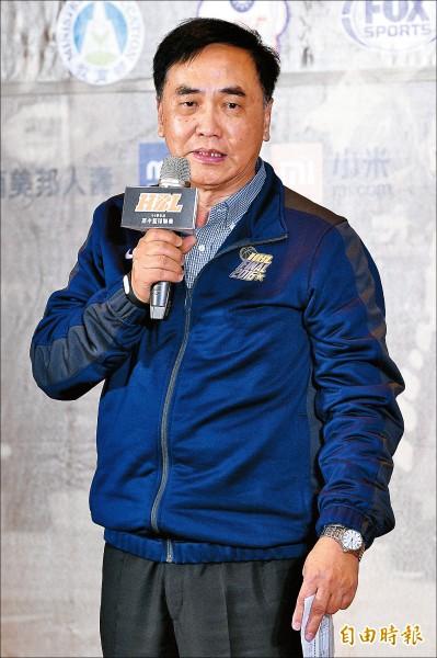 中華民國高級中等學校體育總會會長匡格非。(記者陳志曲攝)