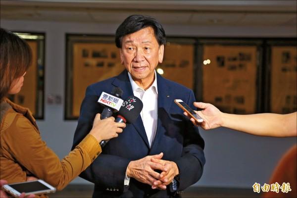國際奧會執行委員吳經國提出中華奧會委員改選爭議情事,體育署將行文中華奧會暫緩本月25日選舉。(記者梁偉銘攝)
