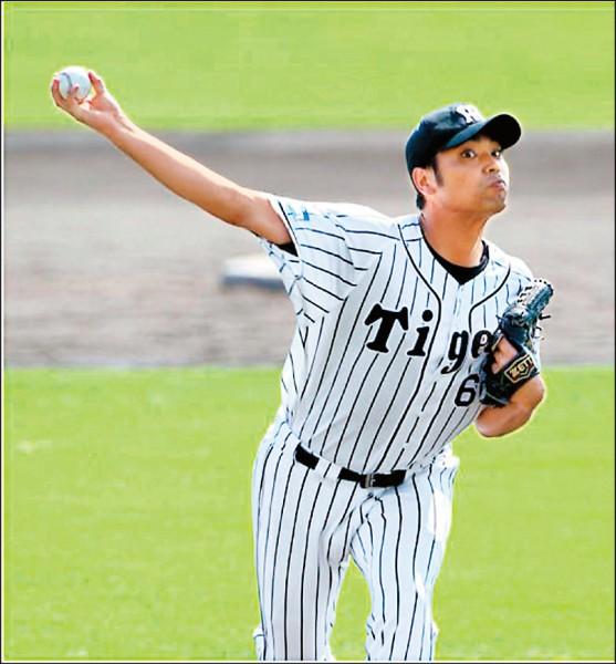 阪神投手桑原謙太朗今年加薪3700萬日圓。(資料照,取自網路)