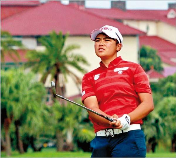 錢珮芸在LPGA樂天錦標賽,以總計282桿並列第6名。 (資料照)