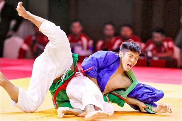 台灣選手詹皓程摘下克拉術銅牌。(歐新社)