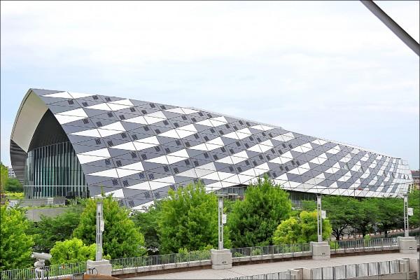 武藏野森林綜合體育館(東京奧運籌備會媒體組提供)