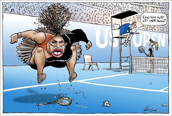 澳洲《太陽先驅報》諷刺漫畫(法新社)