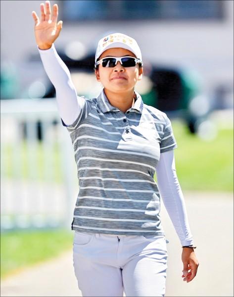 我國高爾夫球好手徐薇淩,出戰愛維養錦標賽,力拚佳績。 (資料照)
