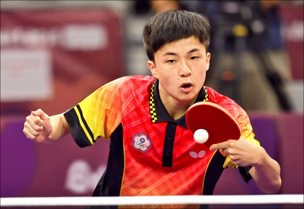 林昀儒無緣金牌。(中央社資料照)