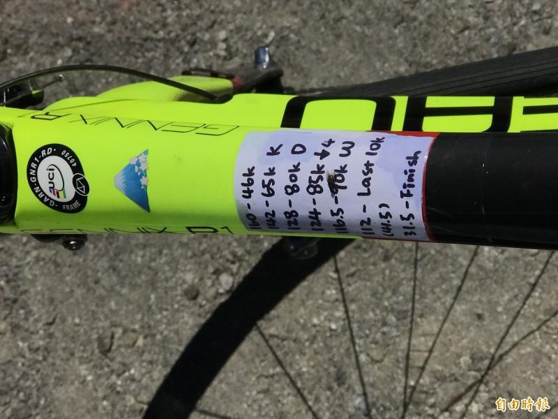 自由車》台灣新登山王歐斯卡 藏有秘密武器