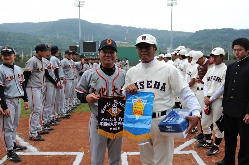 棒球》百年紀念交流賽 日本早稻田大學野球部將訪台