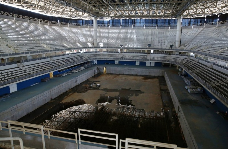 奧運》巴西砸2350億辦奧運 場館半年變鬼城