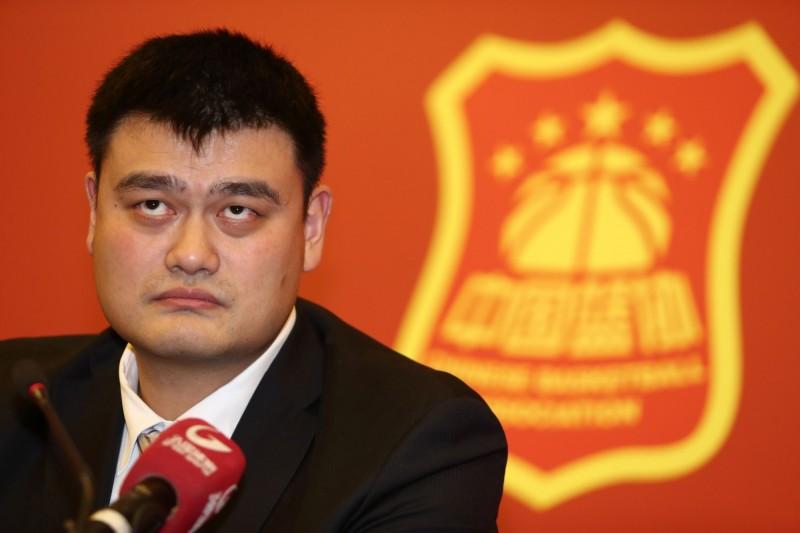 籃球》當選中國籃協主席 姚明:下定決心改革