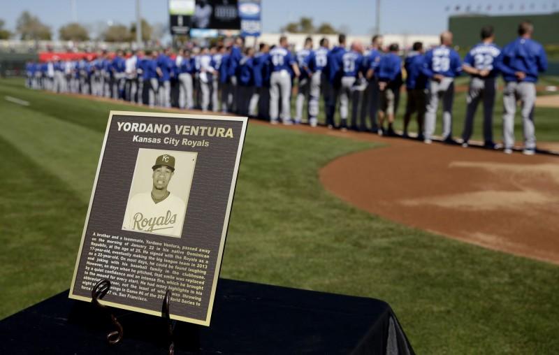 MLB》范屈拉車禍驟逝 皇家今舉辦紀念儀式(影音)