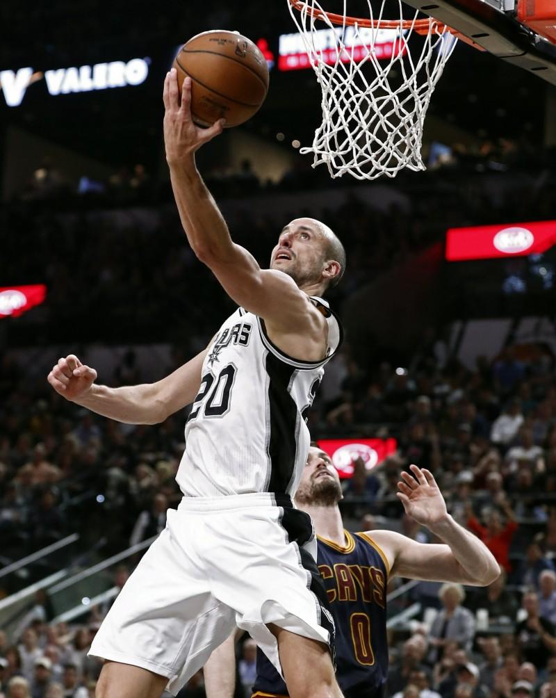 NBA》空中接力還能大拉竿 吉諾比利展驚人腰力(影音)