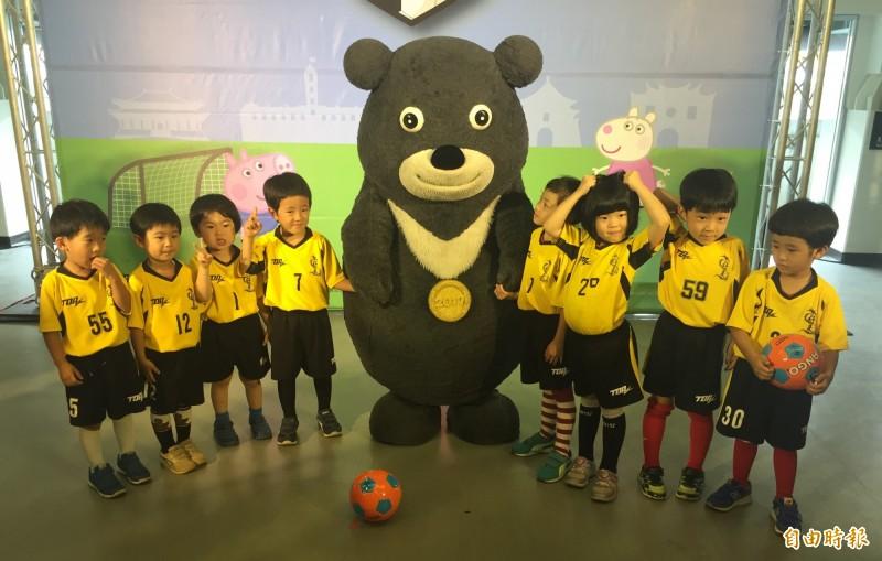 台北市幼兒足球錦標賽 本週末144隊賣「萌」爭冠
