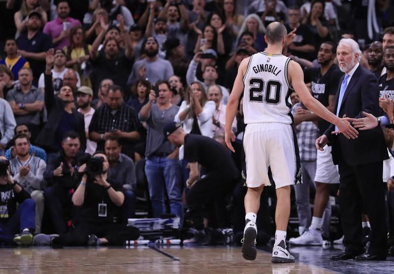 NBA》15年馬刺人最終戰? 吉諾比利退場球迷鼓掌致敬(影音)