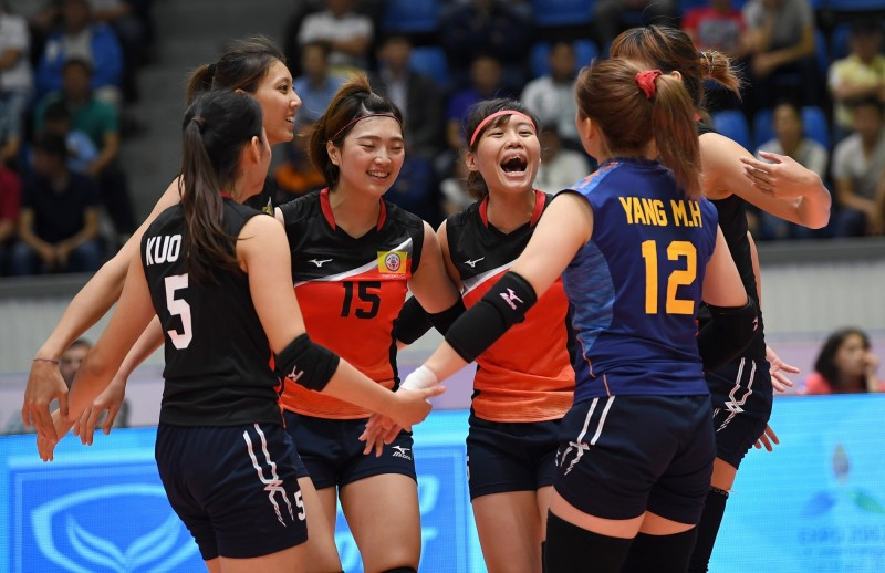 排球》亞洲女排錦標賽不敵伊朗 我預賽吞兩敗