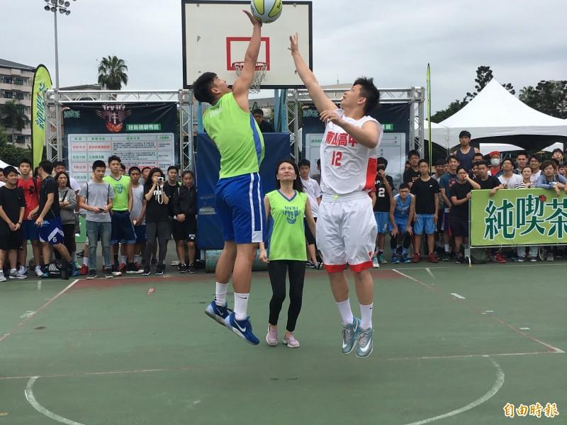 籃球》HBL球星幫三對三站台 展現勇敢Try It精神