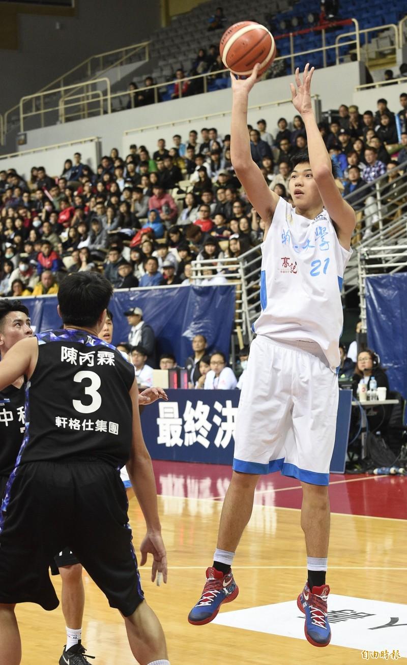 台灣男籃23日澳洲移訓 名單確定有18歲曾祥鈞