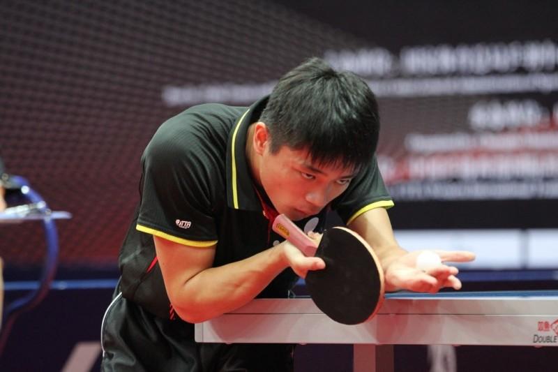 中國桌球公開賽爆冷!桌球詩人撂倒中國名將