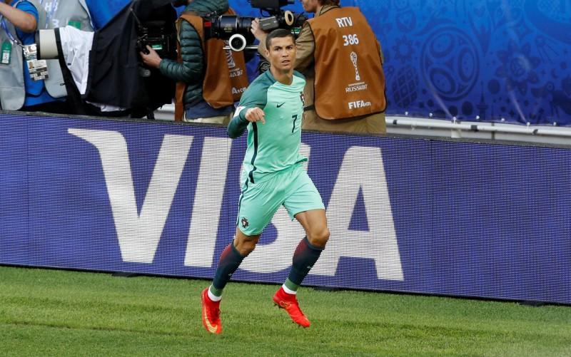 聯合會盃》C羅一錘定音 葡萄牙1球小勝俄羅斯(影音)