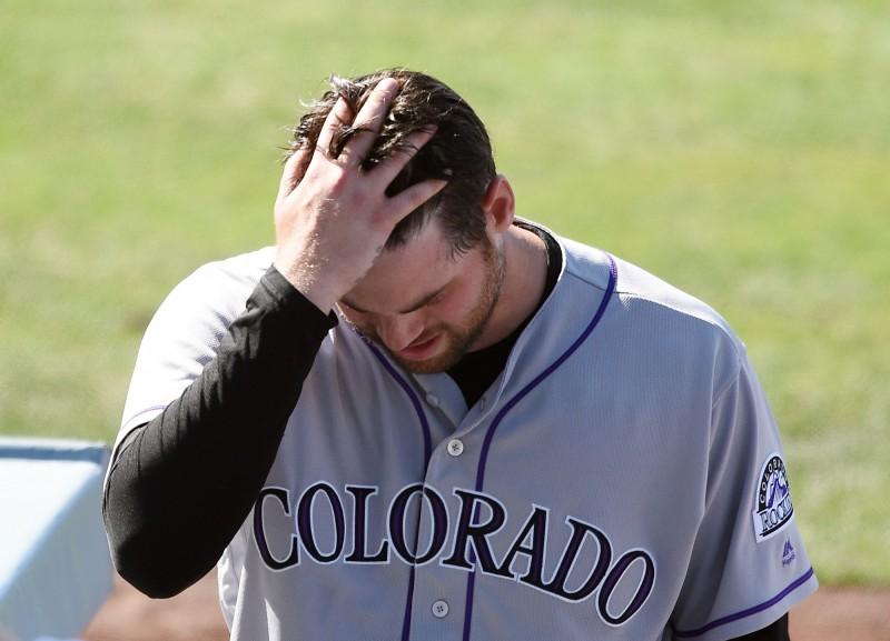 MLB》4暴投送頭 洛磯投手自責:會投到手斷為止(影音)