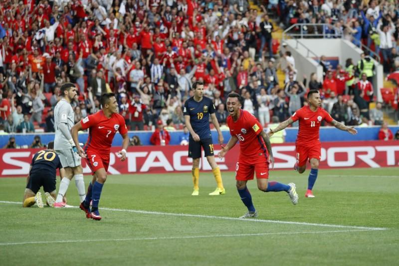 聯合會盃》智利被逼和仍晉級 4強與葡萄牙對決 (影音)