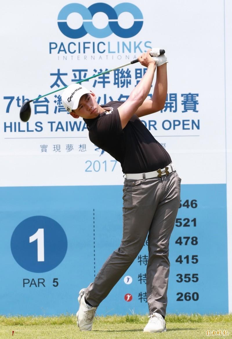 高爾夫》台灣青少年公開賽 陳宥蓁第2回合吞3柏忌