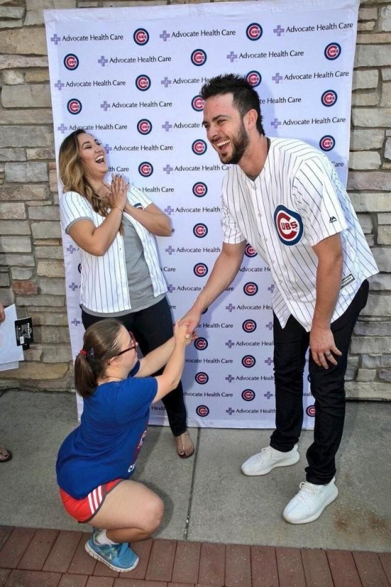 MLB》「他說好」!小球迷暖心求婚小熊隊布萊恩