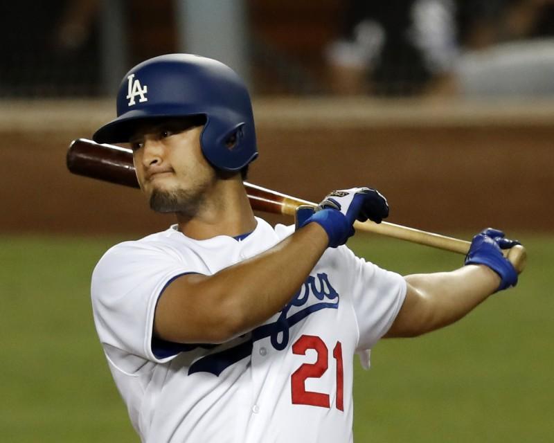 MLB》轉戰道奇7打數吞7K 達比修打擊輕輕揮?(影音)