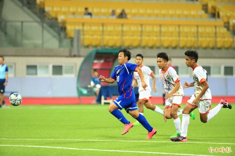 亞足聯U16》傷停補時神來一射 台灣逆轉汶萊奪首勝