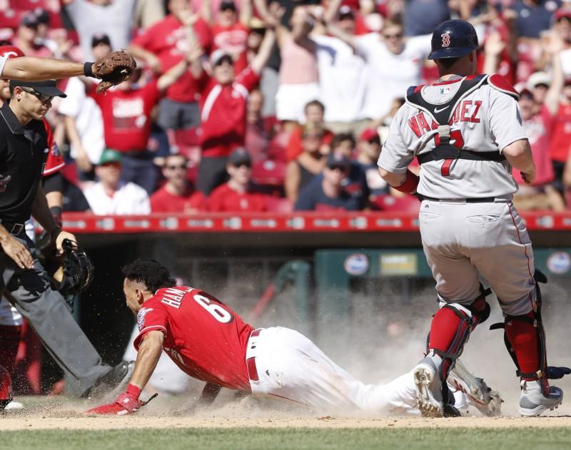 MLB》紅人盜壘王秀超狂腿速 讓紅襪內野全傻眼(影音)