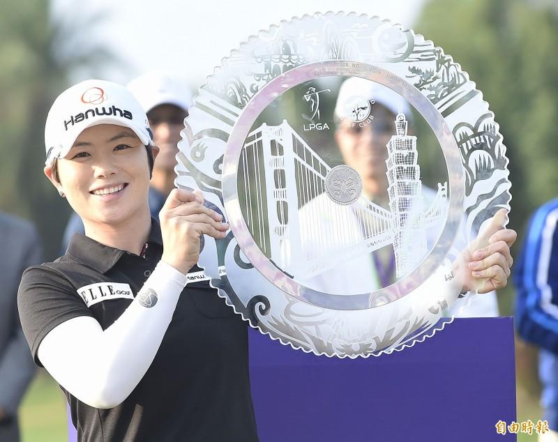裙襬搖搖》池恩熙終結冠軍荒 曾雅妮第17近年台灣賽最佳