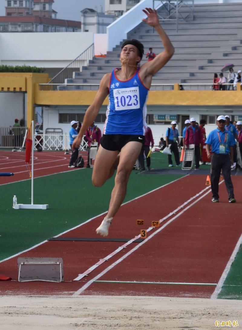 全運會》林家顥生涯首面大賽金牌到手 未來續拚飛越8公尺