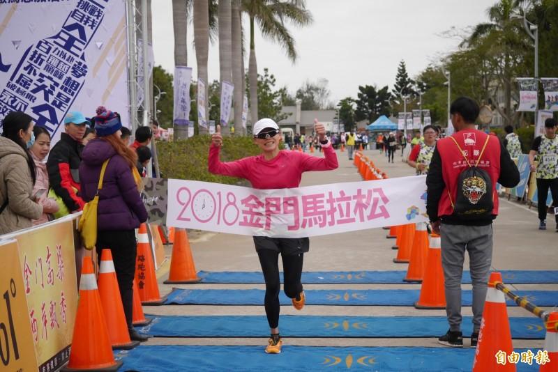 金門馬拉松》兼顧家庭、工作與訓練 46歲職業婦女感動封后