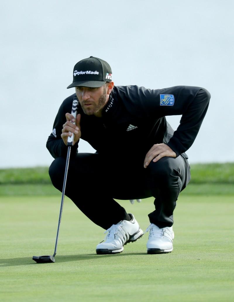 高爾夫》圓石灘配對賽 球王D.強森穩健發揮明爭冠