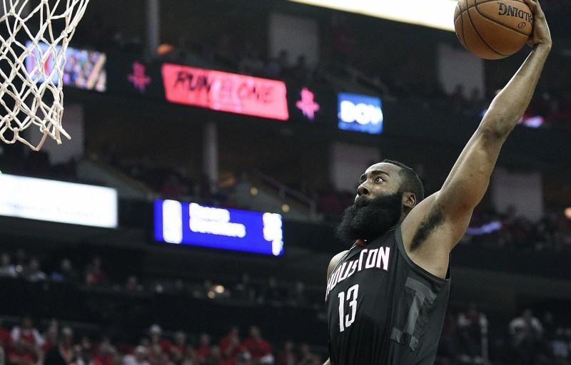 NBA》灰狼只打半場好球 哈登第三節爆發助火箭晉級