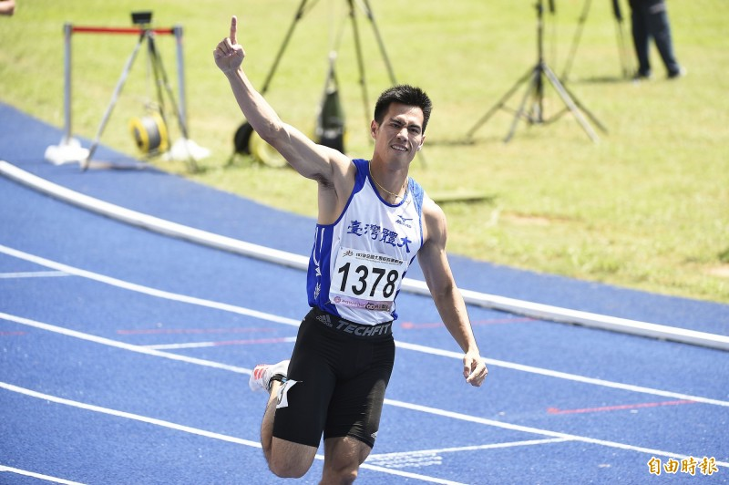 田徑》風一般的男子!楊俊瀚在日本大學生賽衝破百米全國紀錄(影音)