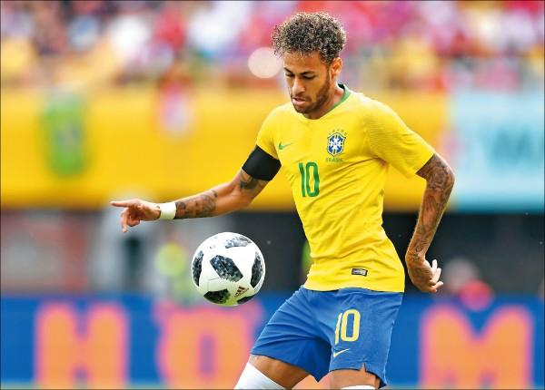 重返榮耀第一步 巴西踢瑞士