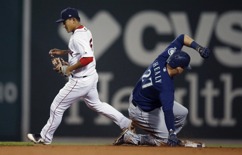 MLB》林子偉沒先發  紅襪痛擊水手登上美東龍頭